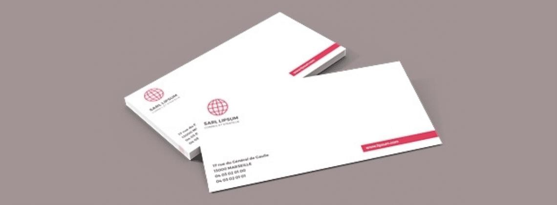 Impression Carte De Correspondance Et Carton En Ligne