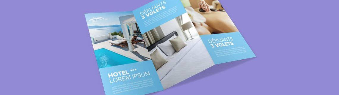 Exemples Et Modeles De Depliant Depliant 3 Volets Original Design