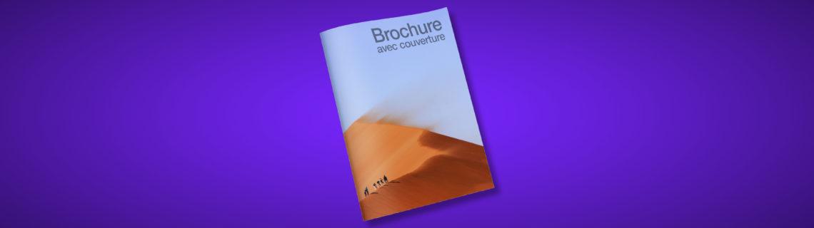 Logiciel PAO maquette brochure