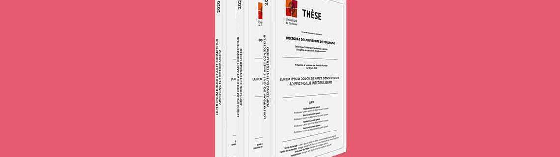 Convertir sa thèse en PDF