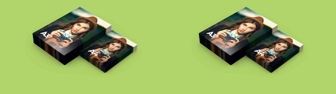 Différentes tailles et dimensions pour imprimer