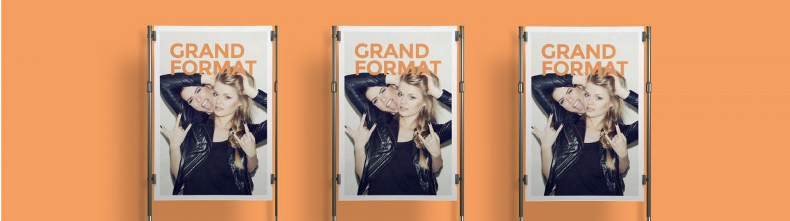 Taille dimension affiche grand format